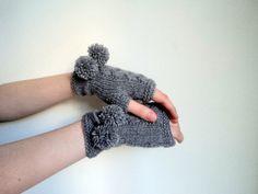 Fingerless gloves handmade gloves  Ready to by beyazdukkan on Etsy, $24.00
