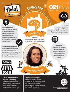 Laura Moraleda hace deliciosos pasteles, tiene una empresa de #formación presencial de alto rendimiento y es #coworker en #021Espai ¿Quieres conocer más sobre ella?