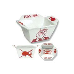 take out ceramic cat dishes?! YAY.
