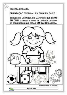 Apostila da Educação Infantil Nível I e II Gisele, Pre School, Kindergarten, Homeschool, Comics, Learning, Kids, House, Toddler Learning Activities