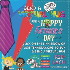 Virtual Hug, Bring It On, Let It Be, Happy Father, Disability, Grateful, Wings, Inspire, Events