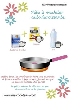 Ma Tchou team: Fabriquer une pâte autodurcissante Diy For Kids, Crafts For Kids, Diy Fimo, Polymer Clay, Salt Dough, Diy Art, Activities For Kids, Diy And Crafts, Projects To Try