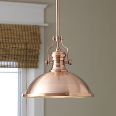 Found it at Wayfair - Waltham Pendant- brass/ rose gold