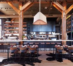 Coqueta Restaurant in San Francisco designed by Architects Alberto Rivera and Michael Guthrie - Michael Chirarello's new Spanish Restaurant