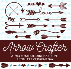 Just a quick update to let you know that I've just had my first font posted to Dafont! Arrow Maker started out with diecutters in mind but I realized it might have broader application as well. Be s...