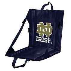 Notre Dame Fighting Irish Folding Stadium Seat, Multicolor