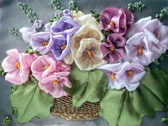 Canasta con flores