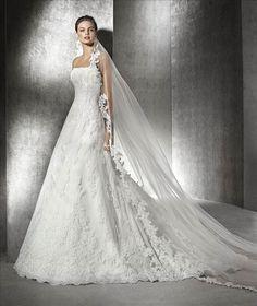 Kate Milano wedding dress 2017 new A pendulum retro lace dressing whisk  wedding tail Princess Wedding 5d3fa8c22b7