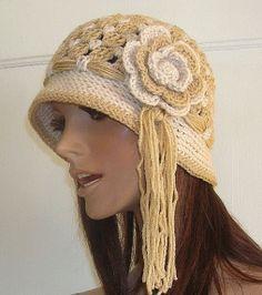Flapper Cloche Crochet Hat