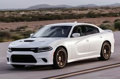 2015 Dodge Charger SRT Hellcat  I was never a fan of the new chargers....until now.