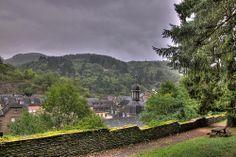 Vue sur La Roche en Ardenne