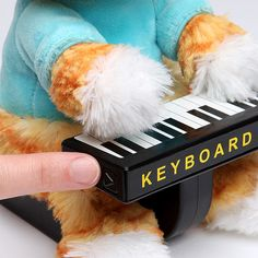Keyboard Cat Animatronic Plush - Take My Paycheck - Shut up and take my money! | The coolest gadgets, electronics, geeky stuff, and more!