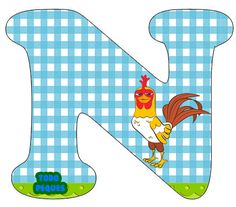 Letras La Granja de Zenon Abecedario para descargar gratis | Todo Peques Farm Birthday, Birthday Parties, Alphabet Templates, Classroom, Party, Erika, Valentino, Letters, Party Printables