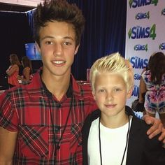 Carson lueders with cameron dallas