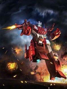Technobots Leader Scattershot Artwork From Transformers Legends Game