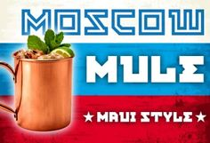 Moscow Mule Maui Sty