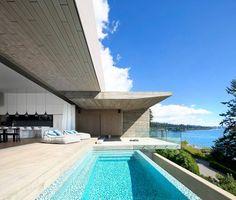Sunset House by McLeod Bovell Modern Houses   HomeAdore