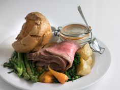 Yorkshire pud and Roast Beef!