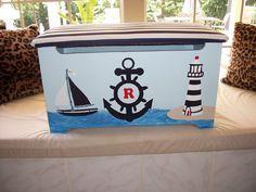 Ryan's Nautical Themed Toy Box CCCbyReta.etsy.com