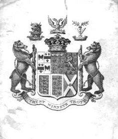 Ex Libris of Francis Rawdon-Hastings, 1st Marquess of Hastings