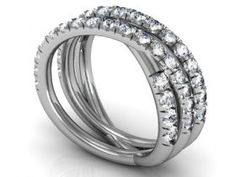 Trending Custom Diamond Rings Custom diamond wedding bands in Dallas Texas at Diamore Diamonds Dallas