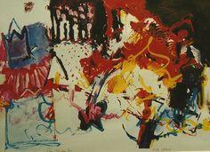 Theo den Boon (1941), ST (1991), zeefdruk 6/55, 65 x 45
