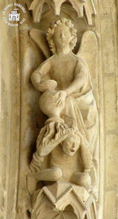 LA FRANCE MEDIEVALE: REIMS (51) - Cathédrale Notre-Dame (Extérieur - Façade occidentale)