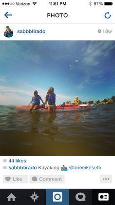 Kayaking in outer banksNorth Carolina