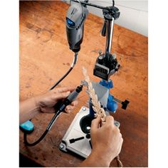 Sale Price: $37.94: The Dremel Work Station gives you the flexibility to tackle hobbies, fix-it renovations, or special projects without having to invest in a variety of separate tools and attachments.