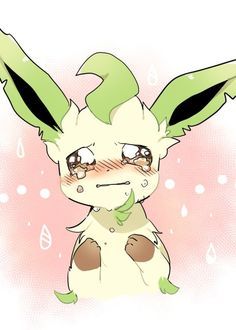#Leafeon. Poor leafeon! Don't worry, I can make it better!