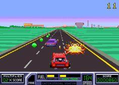 Road Blasters Arcade Game