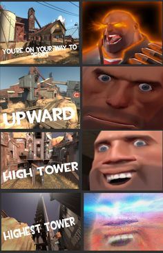 Video Game Memes, Video Games Funny, Funny Games, Tf2 Funny, Stupid Funny Memes, Team Fortress 2, Tf2 Memes, Punch Man, Gaming Memes