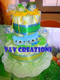 V&V CReazioni: Our Diaper Cakes <3   These are all of my creations. Creations I own and I made by myself! All of these images are mine, and are protected by copyright! Please don't take it without my approvation ♥ Thanks! Follow us on Facebook at: https://www.facebook.com/VeVCreazioni