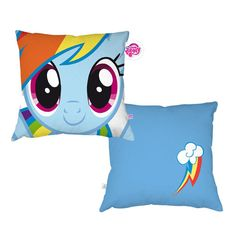 My Little Pony Friendship is Magic Rainbow Dash Pillow for $24.99 ***************
