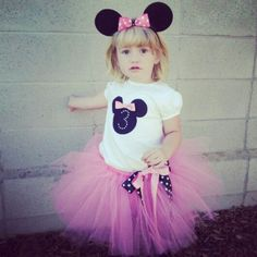 Minnie mouse birthday outfit <3