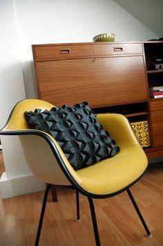 Handmade felt cushions by Feltlove.