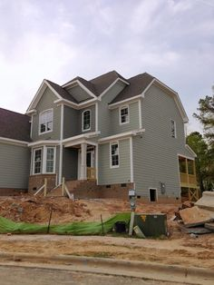 Exterior Paint Colors Grey dovetail gray sw, white dove bm exterior paint colors. | new home