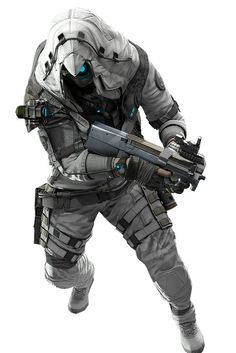 """gamefreaksnz: """"Ghosts gear up for exclusive Assassin's Creed III items Ubisoft announces limited-time Assassin's Creed crossover items for Ghost Recon Online. Character Concept, Character Art, Character Design, Armor Concept, Concept Art, Airsoft, Mode Cyberpunk, Sci Fi Armor, Future Soldier"""