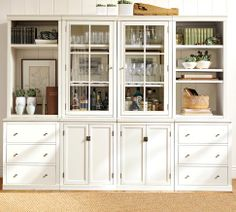 Shop logan modular wall system from Pottery Barn. Our furniture, home decor and accessories collections feature logan modular wall system in quality materials and classic styles. Wall Storage Systems, Storage Ideas, Storage Units, Media Storage, Storage Solutions, Barn Storage, Toy Storage, Craft Storage, Dining Room Storage