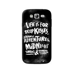 Life Is For Samsung Galaxy Grand Case from Cyankart