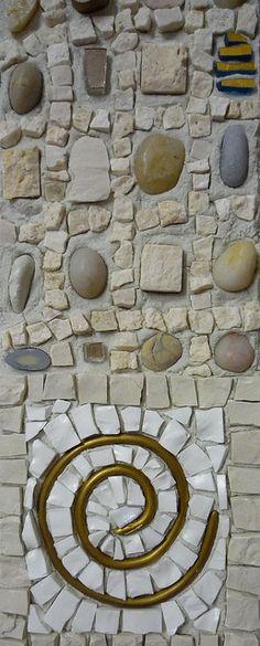 mosaic frame detail by ari kokomosaico, via Flickr