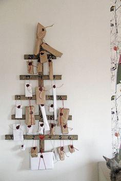 lovely advent calendar idea