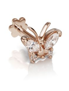 Diamond Marquise Butterfly