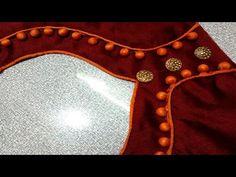 Patch Work Blouse Designs, Fancy Blouse Designs, Bridal Blouse Designs, Back Neck Designs, Blouse Neck Designs, Tailoring Classes, Geometry Formulas, Blouse Designs Catalogue, Sleeves Designs For Dresses