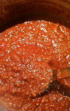 Pressure Cooker Spaghetti Sauce - This Old Gal