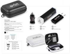 Capacity Tech Set Best Branding offers free branding on most products. This tech set is perfect for anyone on the go with their mobile device and has all the convenience you need all in a great carry case. Available in 2 colours. It features Mobile Phone Price, Mobile Phones, Product Information, Stylus, 2 Colours, Cell Phone Accessories, Charger, Abs, Branding