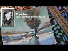 "Winter Soft Pastel Demonstration - ""Blue, Near and Far"" Landscape by Bethany Fields - YouTube"