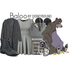 A fashion look from October 2014 featuring circle skirt, long length tops and leather booties. --//-- good ol' baloo