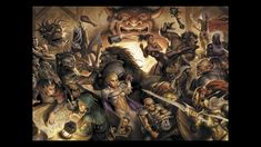 The greatest RPG / Dungeons and Dragons tavern or bar fight of all time. Dungeons And Dragons, Character Creation, Character Concept, Concept Art, Character Design, Character Art, Lotr, Tabletop Rpg, Fantasy Rpg