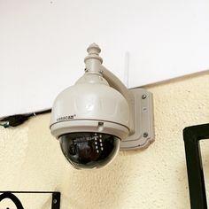 Cámara IP de 1 MP, PTZ, visión nocturna, alertas vía correo. Consúltenos #nekocr #Wanscam